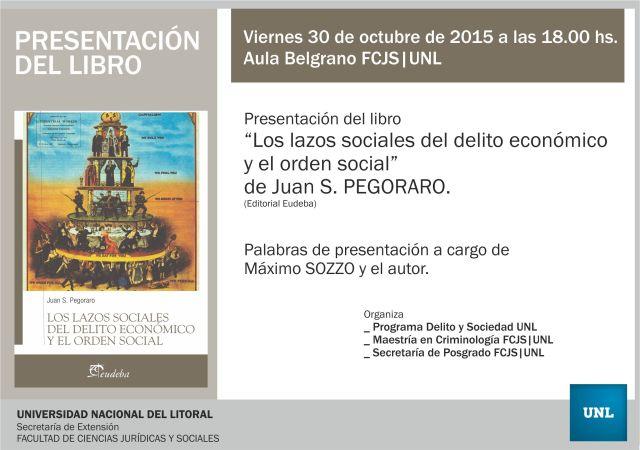 presentacion libro pegoraro - 2015