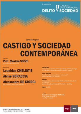 castigo y sociedad contemporanea - 2015